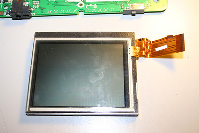 Front of the touch-screen