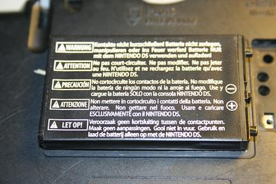 DS Phat Battery back
