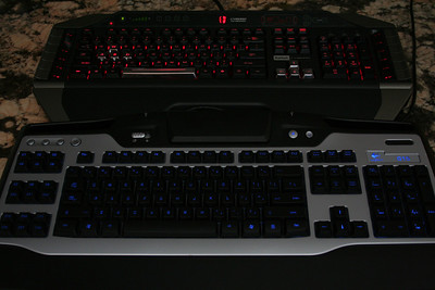 Keyboard Light Comparison - Background light Off