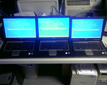 Massive Influx of Computers