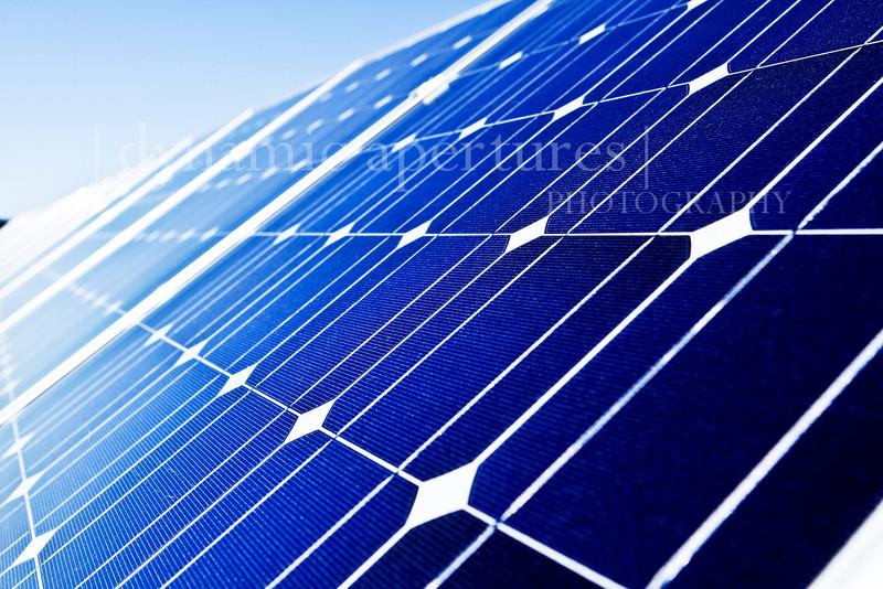 Solar power.
