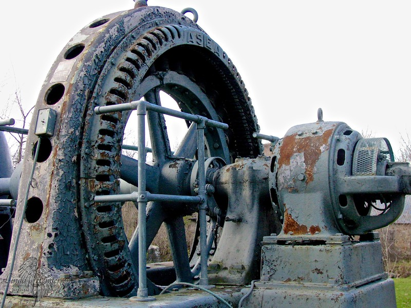 Antique Turbine