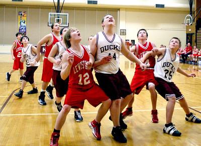 HJHS Basket Ball Vs. Lewistown 1-12-2009