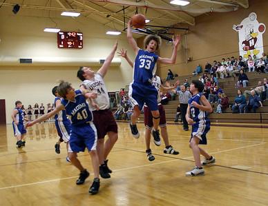 HJHS Boys Basketball Vs. Macomb 1-5-2009