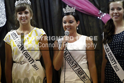 Mason County 4H Queen Pageant 7-24-2012