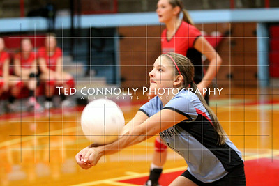 Indians Volleyball Vs Peoria Central 9-2-2014
