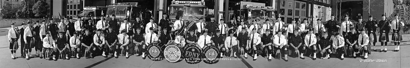 SFD and FDNY Pipe and Drum Bands