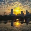 Sunrise over Austin
