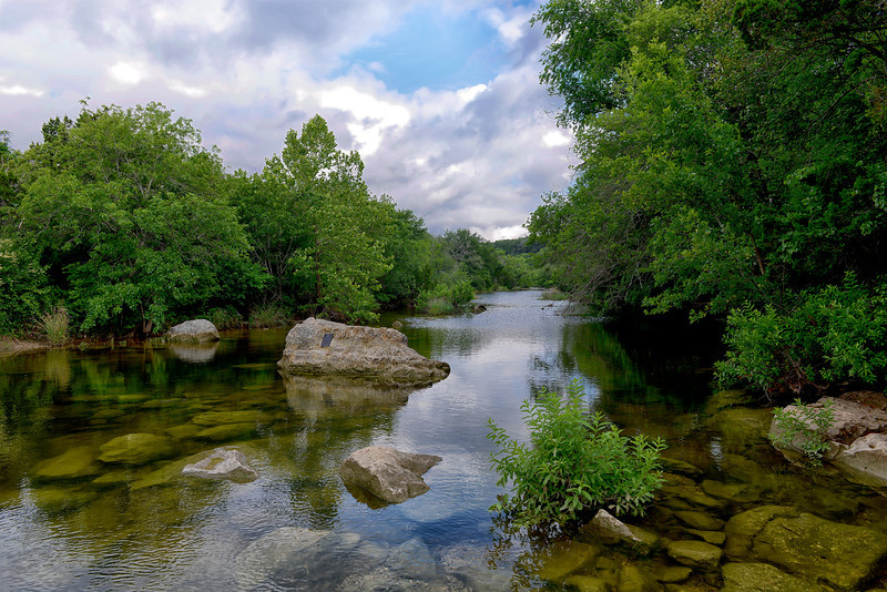 Barton Creek above Twin Falls, Memorial Day 2013