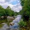 Barton Creek above Twin Falls, Memorial Day 2013