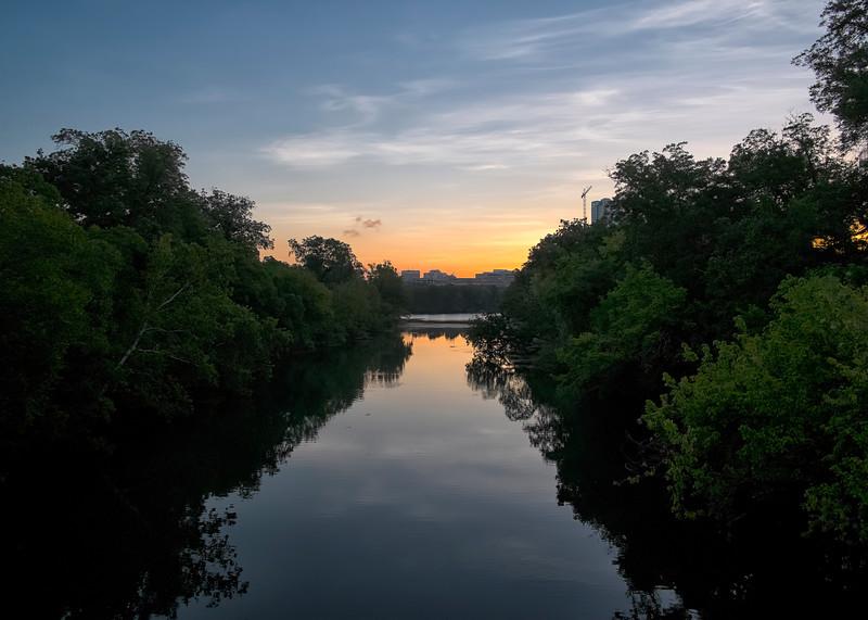 Barton Creek Sunrise