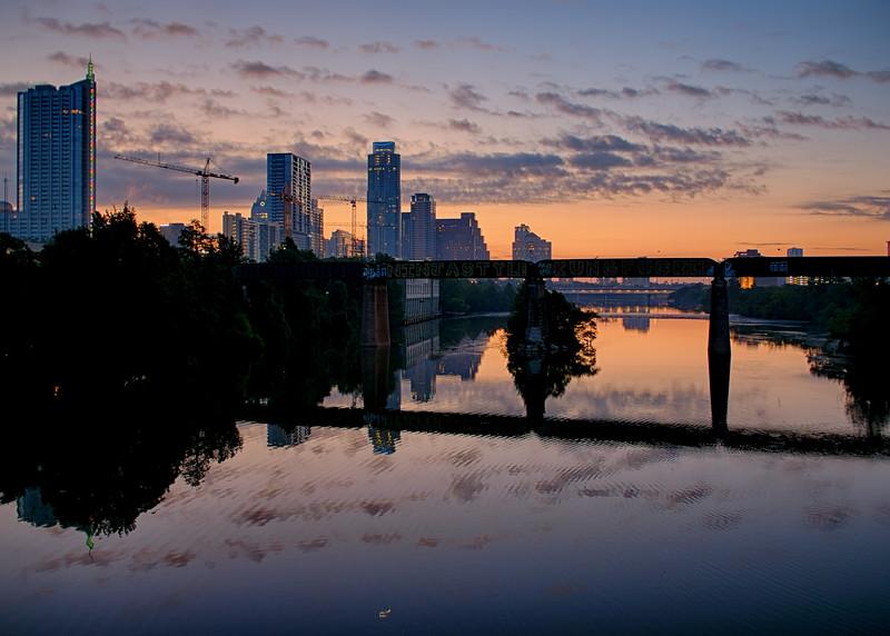 Sunrise Clouds over Austin