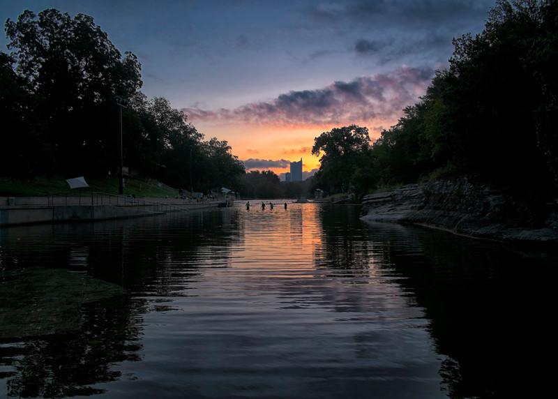 Barton Springs Sunrise