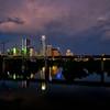 Austin Skyline from Pfluger Pedestrian Bridge