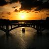 Upriver Sunset