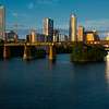 Austin Skyline from Pfluger Pedestrian Bridge