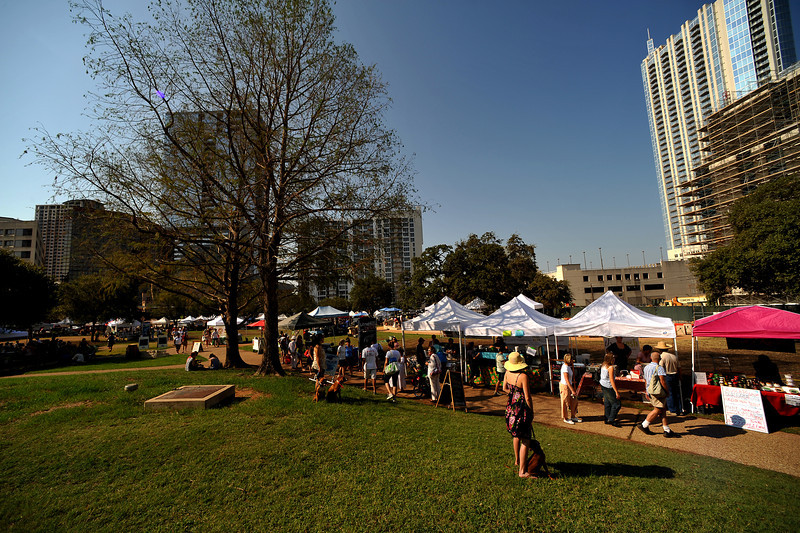 Austin Farmers Market in Republic Square
