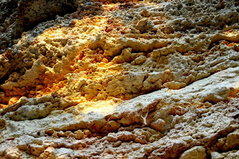 Limestone bluffs near W 29th along Shoal Creek