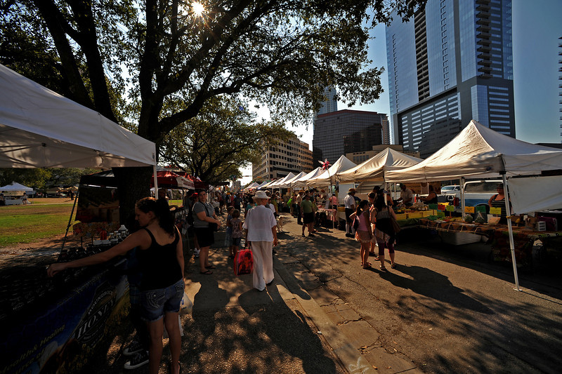 Austin Farmers Market in Republic Square