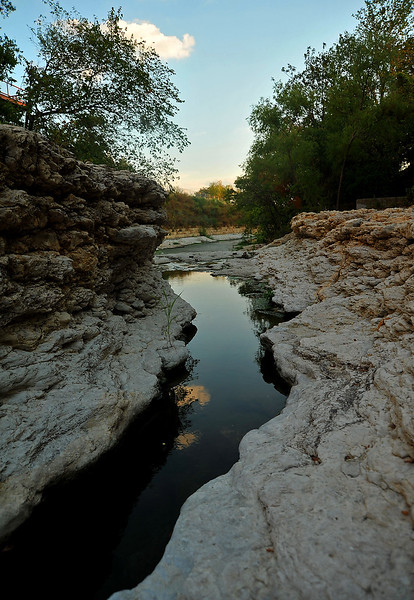 """Shoal Creek """"gorge"""" south of 3rd"""