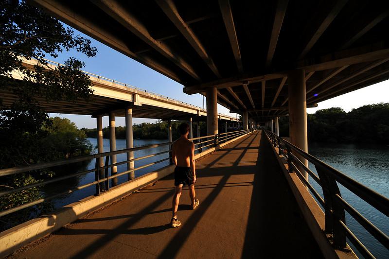 Roberta Crenshaw pedestrian bridge