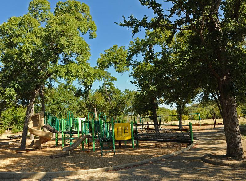 Pease Park playground