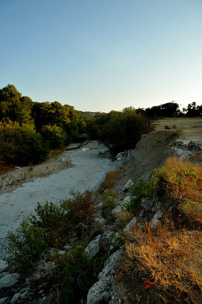 Shoal Creek in Pease Park looking north