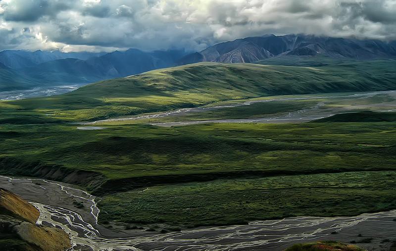 Toklat River, Denali NP, Alaska