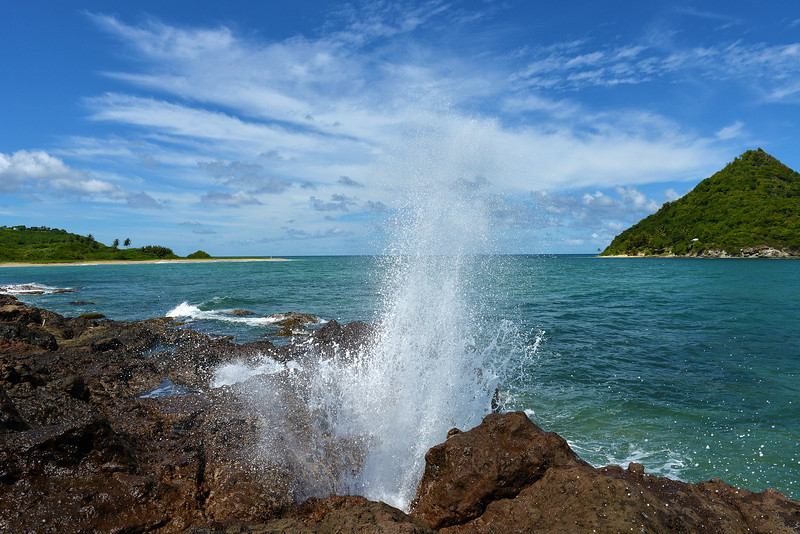 Blow Hole in Antigua