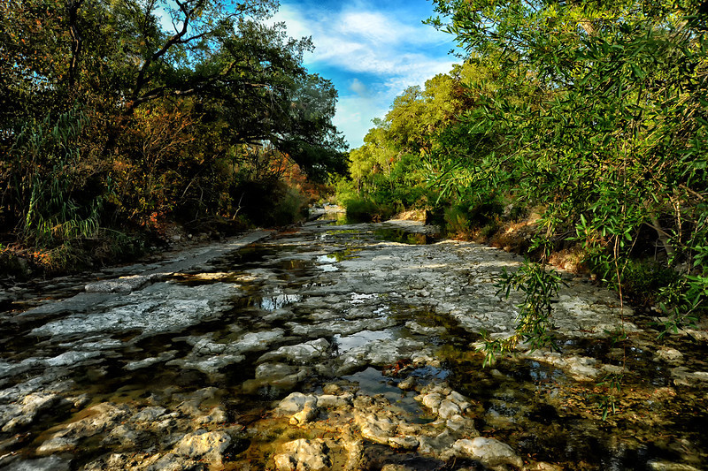 Shoal Creek, Austin, Texas, by Ted Lee Eubanks
