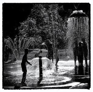 Summertime Fun in Pease Park, Austin, Texas