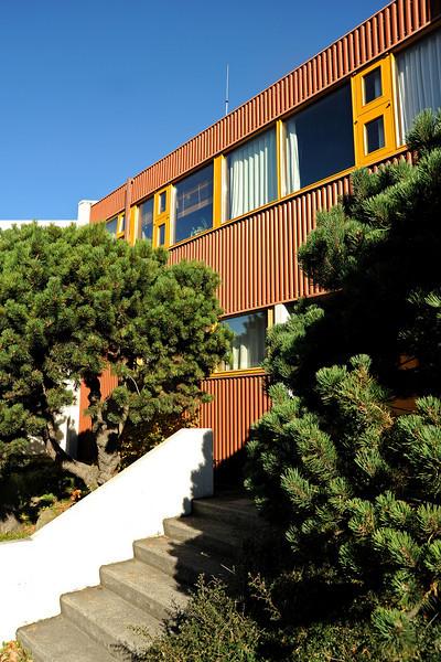Modern Reykjavik architecture, Iceland, Sep 2010