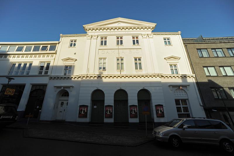 Opera house, Reykjavik architecture, Iceland, Sep 2010