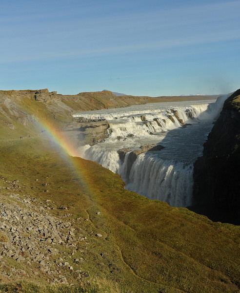 Gulfoss waterfall, Iceland, Sep 2010