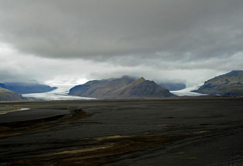 Mýrdalsjökull glacier, Iceland, Sep 2010