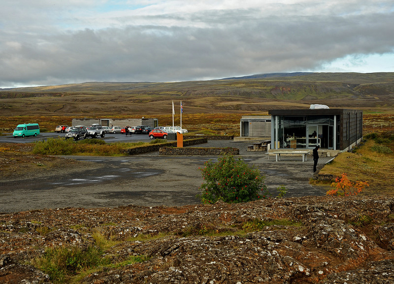 Park Visitors Center, þingvellir NP, Iceland, Sep 2010
