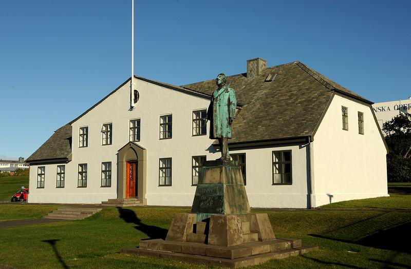 Prime Minister's office, Reykjavik, Iceland, Sep 2010
