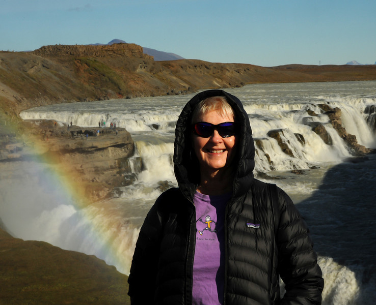Virginia, Gullfoss, Iceland, Sep 2010