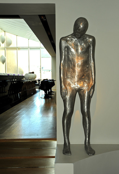 One of the statues in the 101 Hotel, Reykjavik, Iceland, Sep 2010<br /> <br /> This form is found everywhere in Reykjavik, but I still have no idea what it represents.