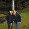 Britney Fox and Megan McFadden, Selfoss waterfall, Iceland, Sep 2010