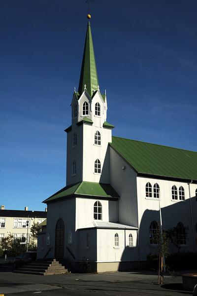 Reykjavik church, Iceland, Sep 2010