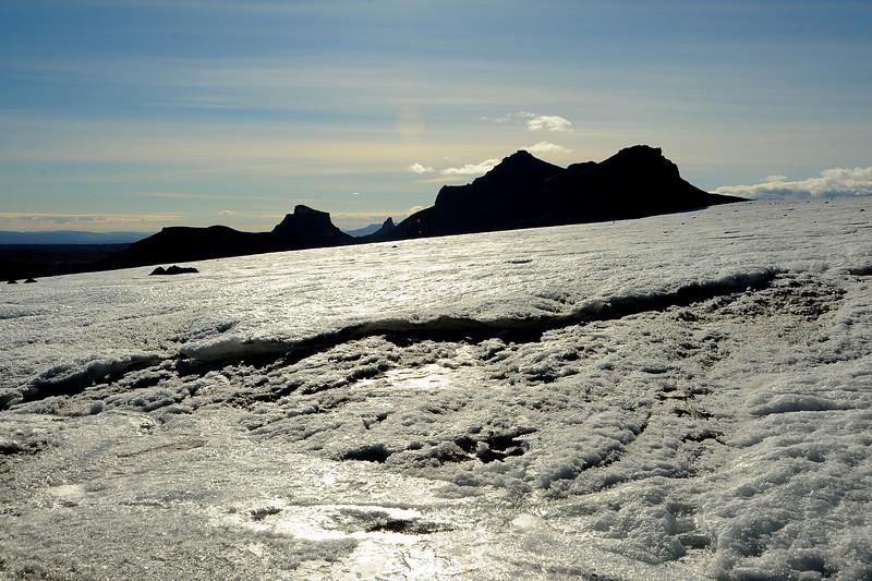 Langjökull glacier, Iceland, Sep 2010