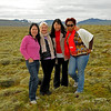 Cindy, Virginia, Isabel, and Georgia, Iceland, Sep 2010