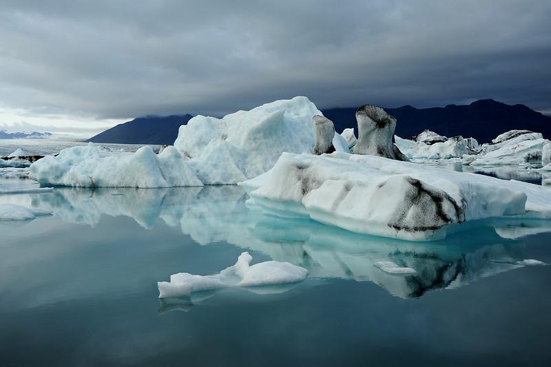 Jokulsarlon glacial lagoon, Iceland, Sep 2010