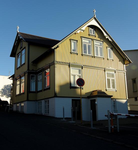Reykjavik architecture, Iceland, Sep 2010