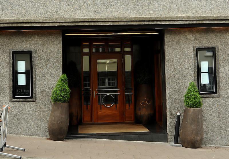 101 Hotel entrance, Reykjavik, Iceland, Sep 2010