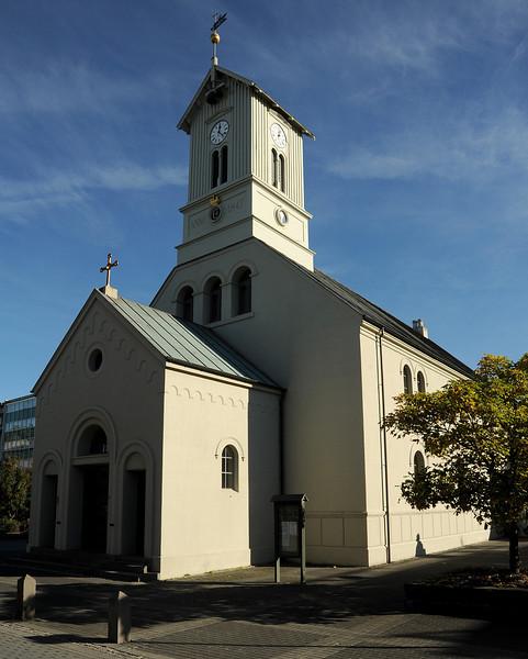 Dómkirkjan (Cathedral of Iceland), Reykjavik, Iceland, Sep 2010