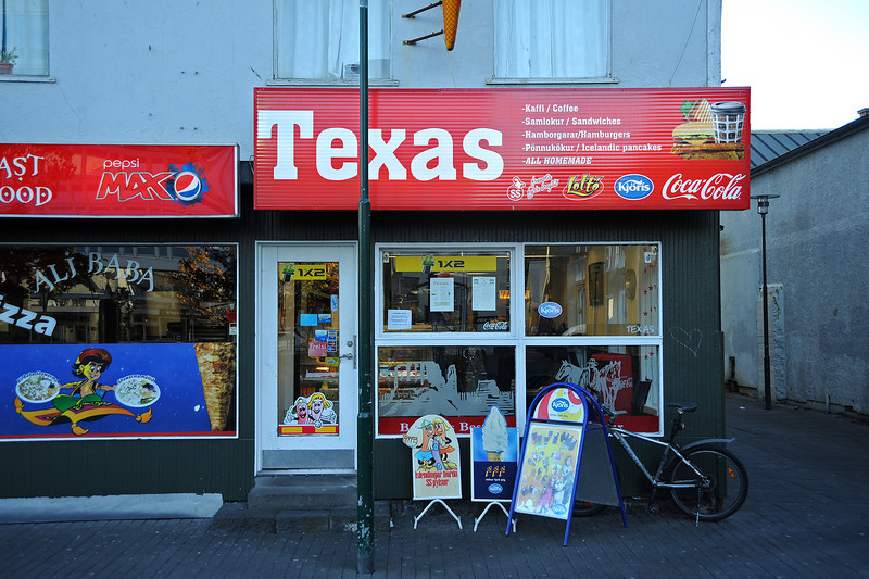 A taste of Texas in RKV, Iceland, Sep 2010