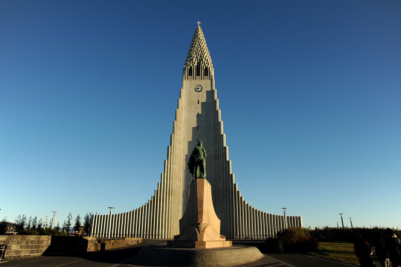 Hallgrimskirkja, Reykjavik, Iceland, Sep 2010