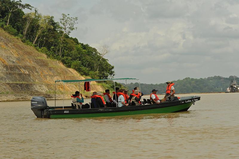 NAI fieldtrip to Barro Colorado, Panama Canal, Gamboa, Panama